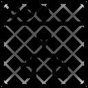 Hierarchy Network Web Icon
