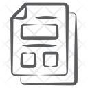 Hierarchical Structure Hierarchy Site Map Icon