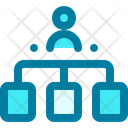 Hierarchy Team Group Icon