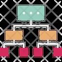 Diagram Hierarchy Plan Icon