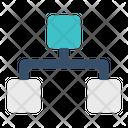 Structure Organization Diagram Icon