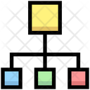 Hierarchy Network Connection Icon