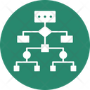 Hierarchy Network Model Network Structure Icon