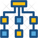 Hierarchy Sitemap Network Icon
