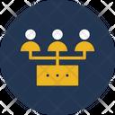 Hierarchy Management Organization Icon