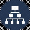 Hierarchy Networking Organization Icon