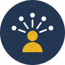 Hierarchy Leader Network Icon
