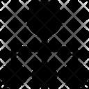 Hierarchy Diagram Connection Icon