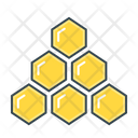 Hierarchy Honey Honeycombs Icon