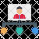 Hierarchy Team Organization Icon
