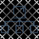 Network Connectivity Hierarchy Icon