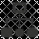 Organization Diagram Order Icon