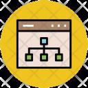 Hierarchy Structure Web Icon