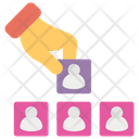 Hierarchy Concept Hierarchy Planning Icon