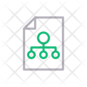 Network File Chart Icon
