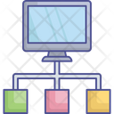 Hierarchy Isometric Icon