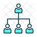 Hierarcy Strategy Finance Icon
