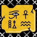 Hieroglyphs Egyptian Ancient Icon