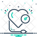 High Speedometer Heart Icon