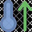 High Temperature Thermometer Icon