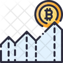 Expected Profit Bitcoin Icon