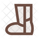 High Boot Ugg Shoes Icon