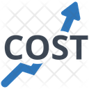 High Cost Cost Higher Cost Icon