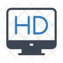 Hd Highdefinition Display Icon