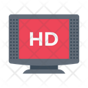 Highdefinition Display Hd Icon