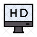 Highdefinition Display Lcd Icon