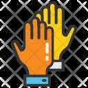 Hands Best Friends Icon