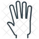 High Five Hand Icon