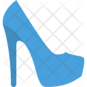 Pumps High Shoes Icon