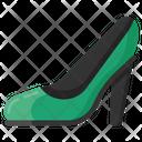 High Heel Shoe Bridal Shoe Icon