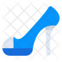 High Heel Ladies Shoe Bride Heel Icon