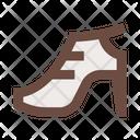 Shoe Heel Sandals Icon