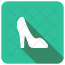 High Heel Foot Lady Icon