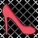 Heel Sandal Shoe Icon