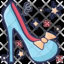 High Heel Shoe Crystal Heel Icon