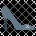 Heel Sandal Footwear Icon
