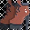High Heel Boots Shoes Heel Icon