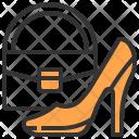 High Heels Handbag Shoe Icon
