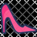 Footwear Heels High Icon