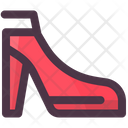 Clothes Ladies Shoes Ladies Boot Icon