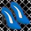 High Heels Shoe Bridal Shoes Icon