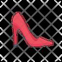Heel Shoe Footwear Icon