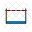 High Jump Sport Game Icon