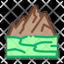 High Mountains Terrain Icon