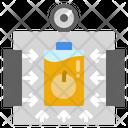 High Pressure Processing Icon