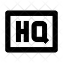 Hq High Qulity Icon